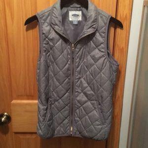 Quilted texture vest